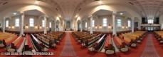 Vnútro Kostola svätých Cyrila a Metoda